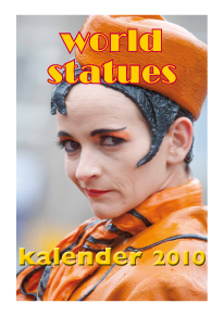 frontcover Kalender World Statue
