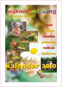 frontcover kalender Wijktuinbeleving