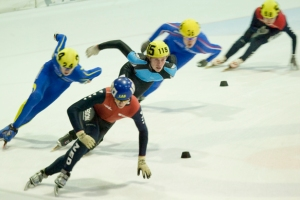 KNSB Shorttrack Vechtsebanen in Utrecht