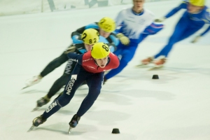 Shorttrack op Vechtsebanen in Utrecht