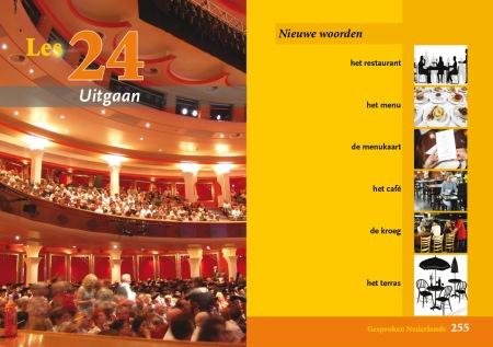 spread van binnenwerk Toets Gesproken Nederlands pagina 254-255