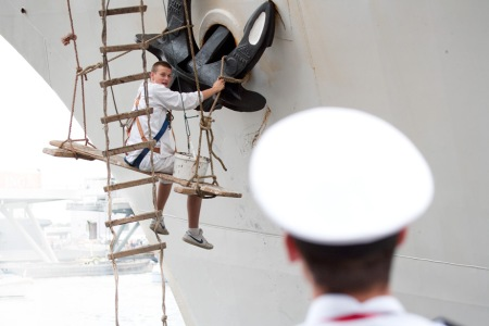 Sail Amsterdam 2010 - onderhoud anker en toezicht