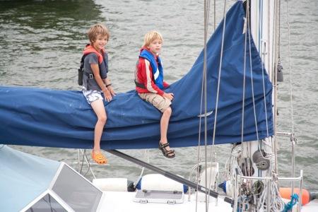 Sail Amsterdam 2010 - jonge bezoekers