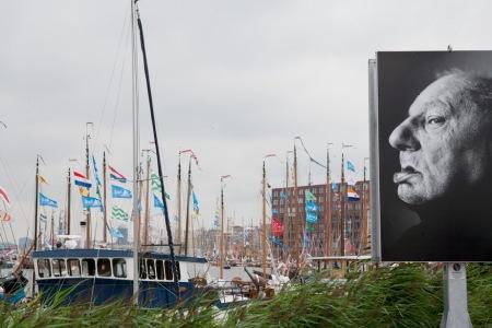 Sail Amsterdam 2010 - grote portretten langs de route