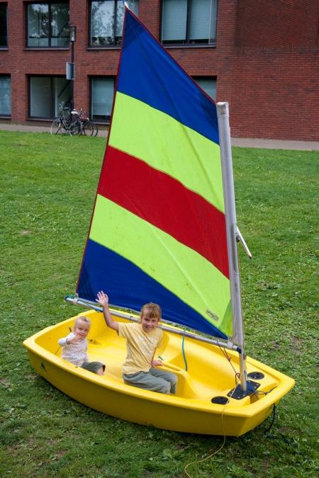 Sail Amsterdam 2010 - hun eigen sail