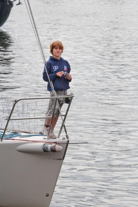 Sail Amsterdam 2010 - op de boeg