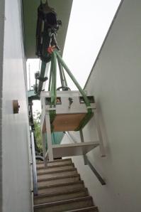 Takelen oude snijmachine