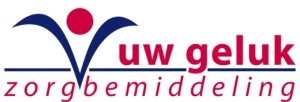logo zorgbemiddelingsbureau UW GELUK