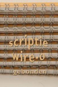 scripties of rapporten gebonden in Wire-O