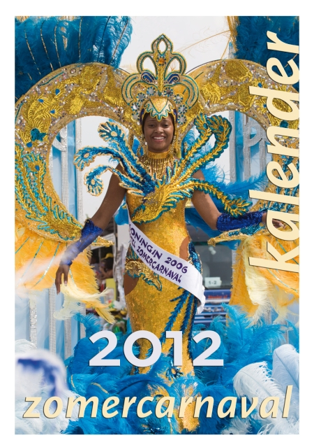 © voorblad wandkalender Zomercarnaval 2012