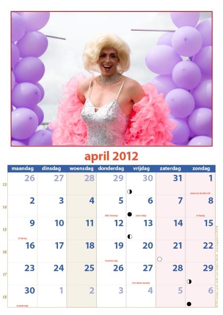 kalender Zomercarnaval 2012 april