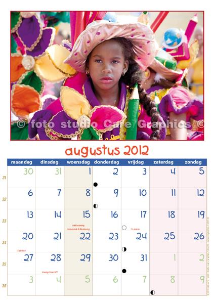 Zomercarnaval foto's en kalender 2012 augustus