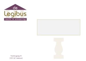 De Legibus venster-envelop A5