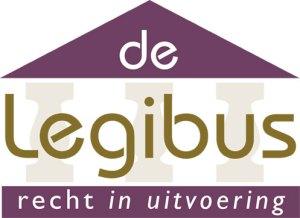 logo De Legibus, recht in uitvoering