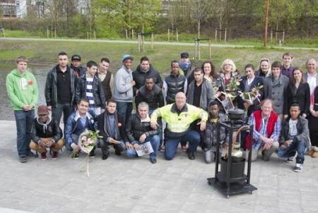 deelnemers Rookmeldersproject De Wissel in Overvecht