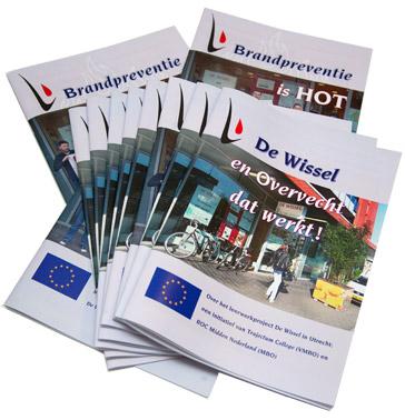 magazine De Wissel met 2 titelcovers voor en achter