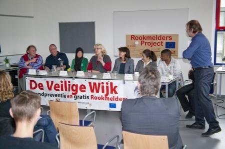 symposium deelnemers Rookmeldersproject