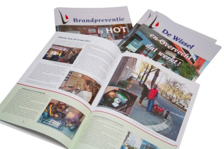 full color digitaal printen magazines