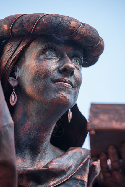 © Wereldkampioenschap Living Statues 2012 - studio Care Graphics