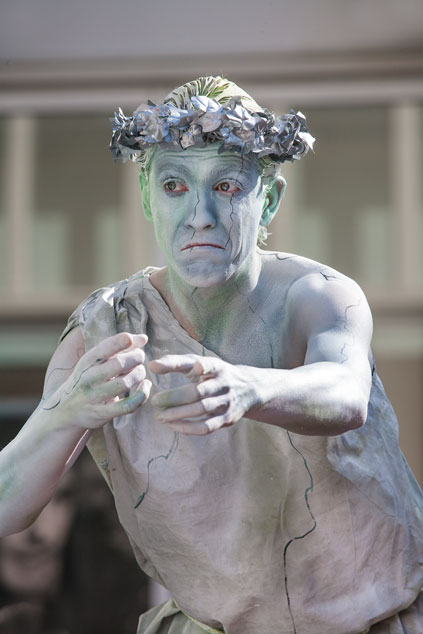 Wereldkampioenschap Living Statues 2012 - studio Care Graphics