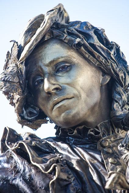Wereldkampioenschap Living Statues 2012