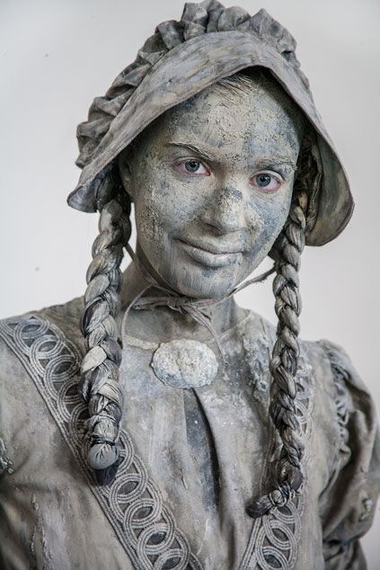 "Wereldkampioenschap Living Statues 2012 - ""the making of"""