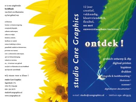 brochure studio Care Graphics, Utrecht
