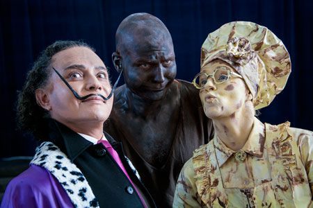 fotografie World Living Statues Festival 2014 - Arnhem -