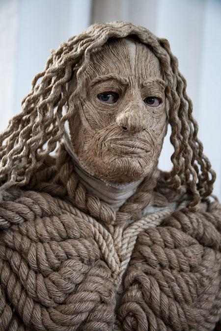 fotografie World Living Statues Festival 2014 - Arnhem - Ropes Man, Kazachstan