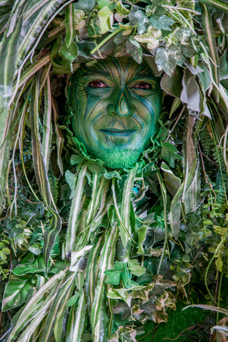 Statues Festival 2014 - Arnhem - Green Man of London, Groot Brittanië