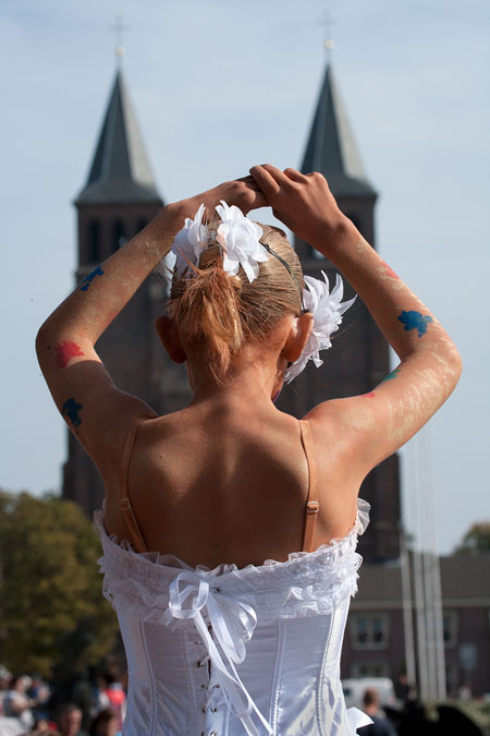 fotografie World Living Statues Festival 2014 - Arnhem - Kids