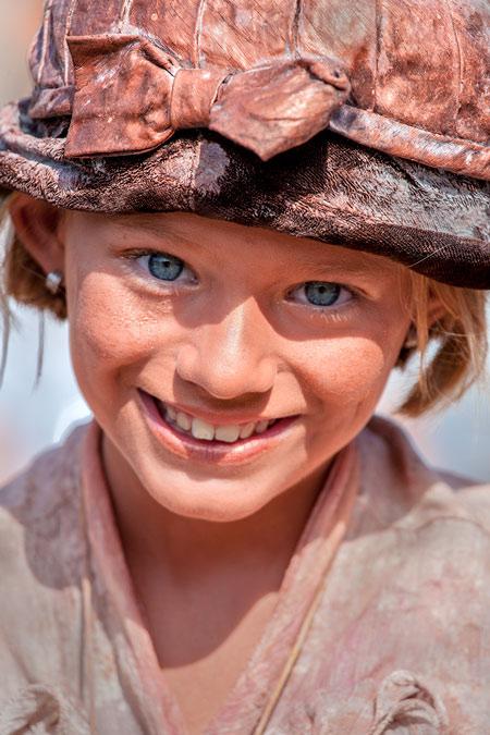 © fotografie World Living Statues Festival 2014 - Arnhem - Kids