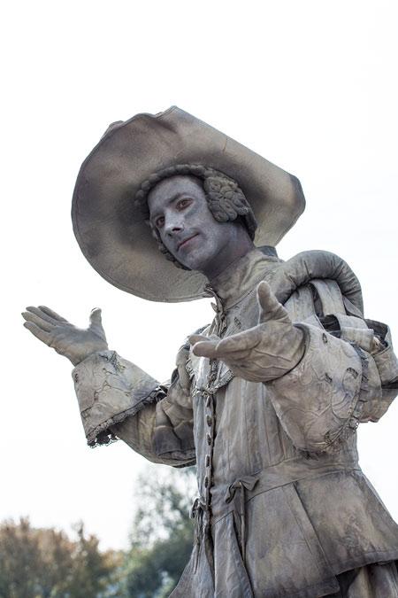 Statues Festival 2014 - Arnhem - professionals - d'Artagnan - België