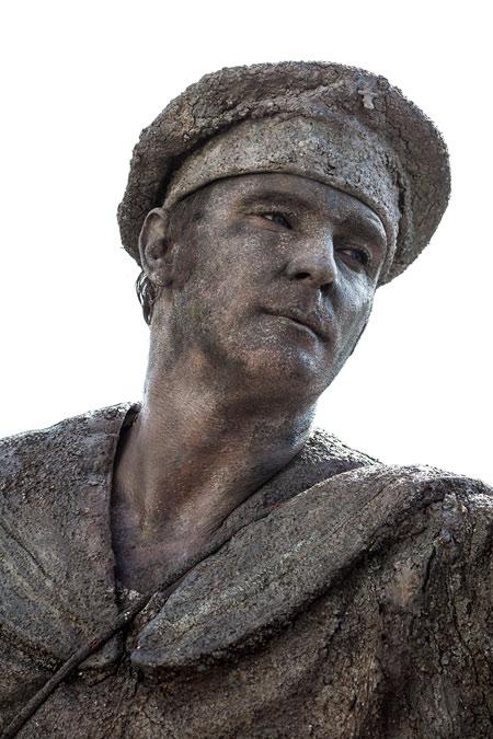 fotografie World Living Statues Festival 2014 - Arnhem - professionals - Matroos, Nederland