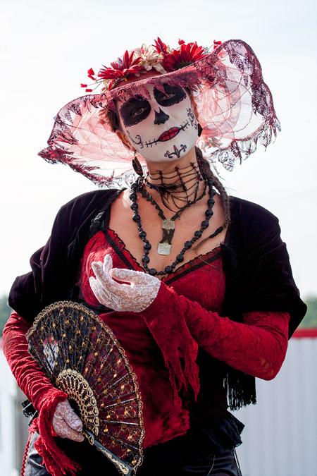 fotografie World Living Statues Festival 2014 - Arnhem - professionals - Catrina - Griekenland
