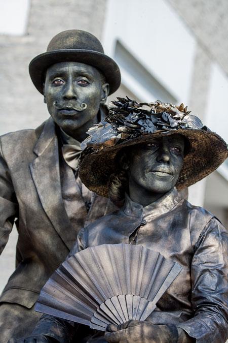 fotografie World Living Statues Festival 2014 - Arnhem - professionals -