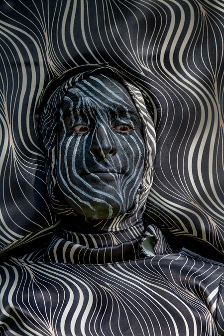 fotografie World Living Statues Festival 2014 - Arnhem - professionals - 'Armchair' - 3e prijs
