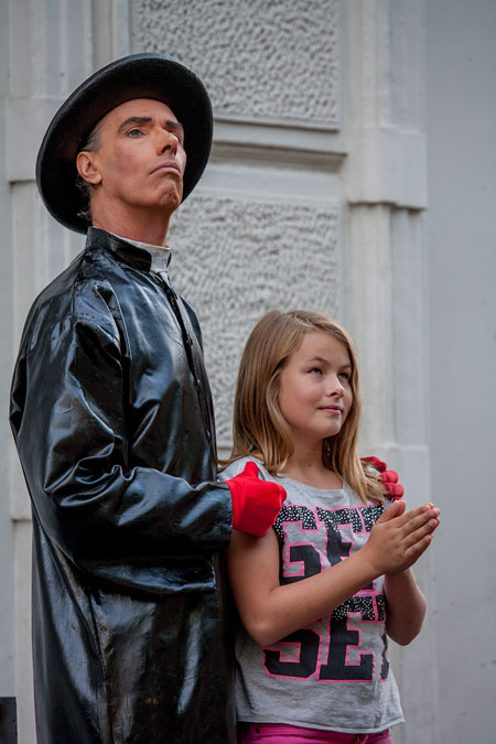 fotografie World Living Statues Festival 2014 - Arnhem - professionals - Padre Martinez - Nederland