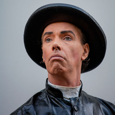 © fotografie World Living Statues Festival 2014 - Arnhem - professionals - Padre Martinez - Nederland