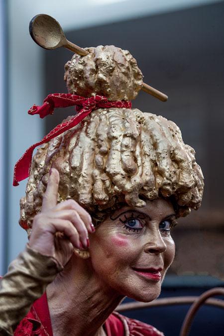 fotografie World Living Statues Festival 2014 - Arnhem - professionals - Miss Baksel, Nederland
