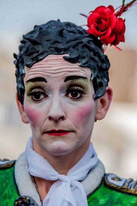 fotografie  -  World Living Statues Festival 2014 - Arnhem - professionals -