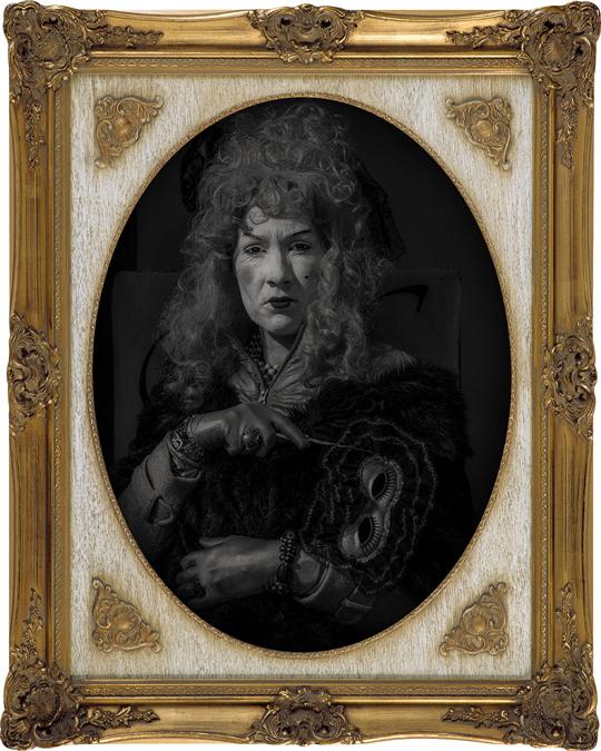 portretfotografie Elfia 2016 - kasteel Haarzuilens - zondag -  Esther Breur -  'Nightblade assassin'